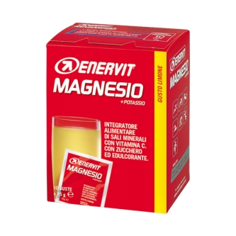 Enervit magneesiumi + kaaliumi pulber (10x15g)