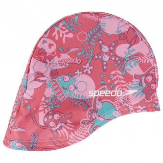Speedo Sea Squad tekstiilist ujumismüts lastele